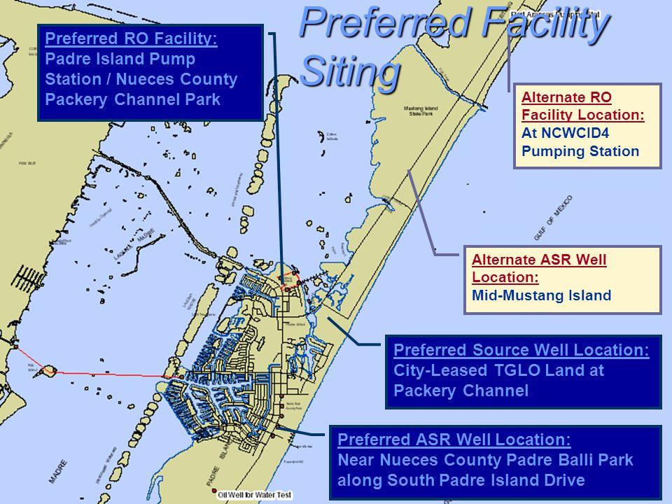 Preferred Facility Siting
