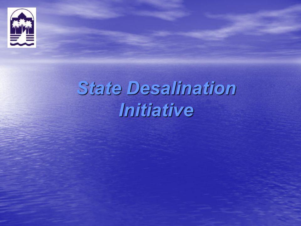 State Desalination Initiative