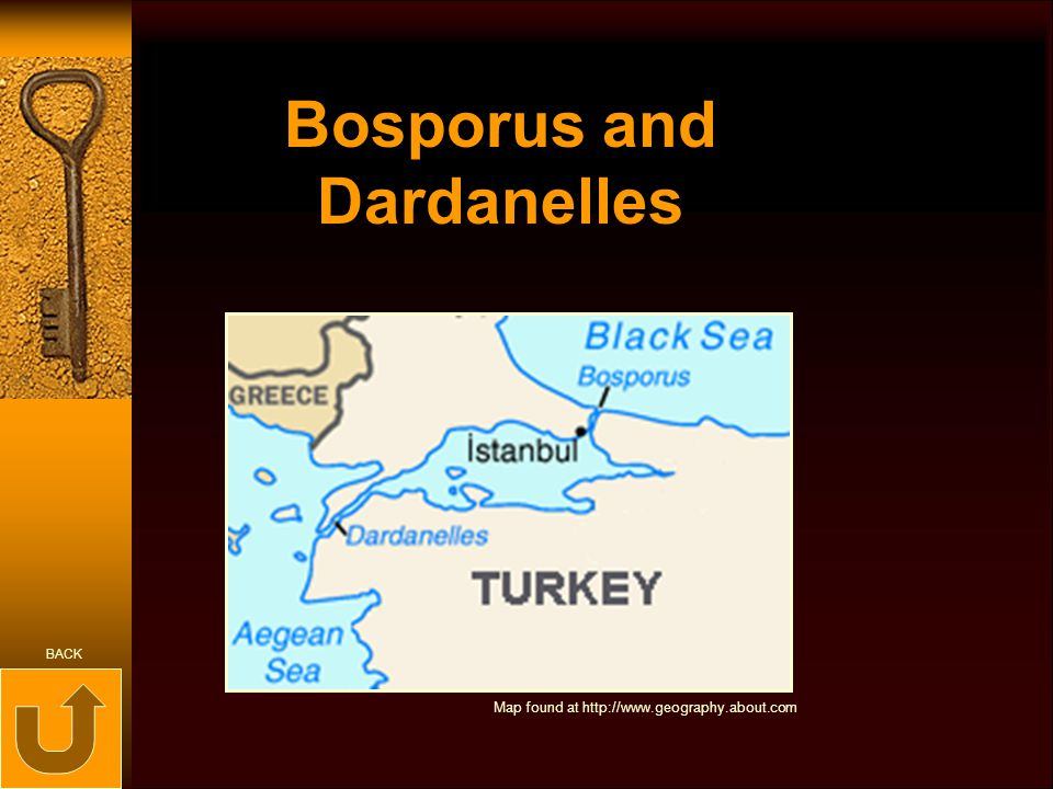Bosporus and Dardanelles