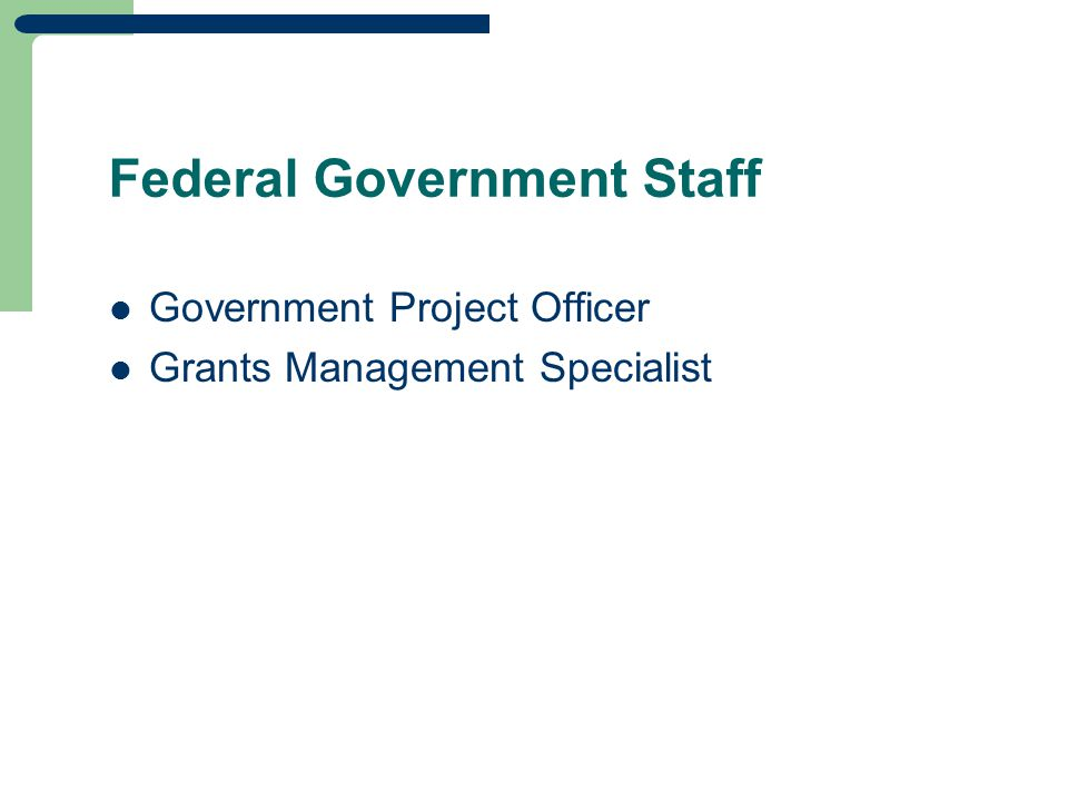 Federal Government Staff