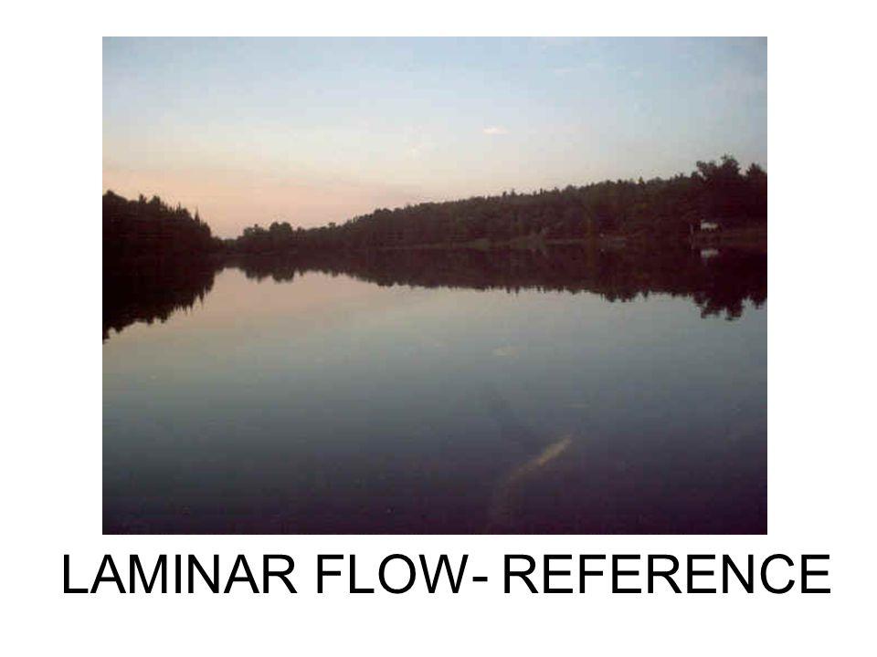 LAMINAR FLOW- REFERENCE