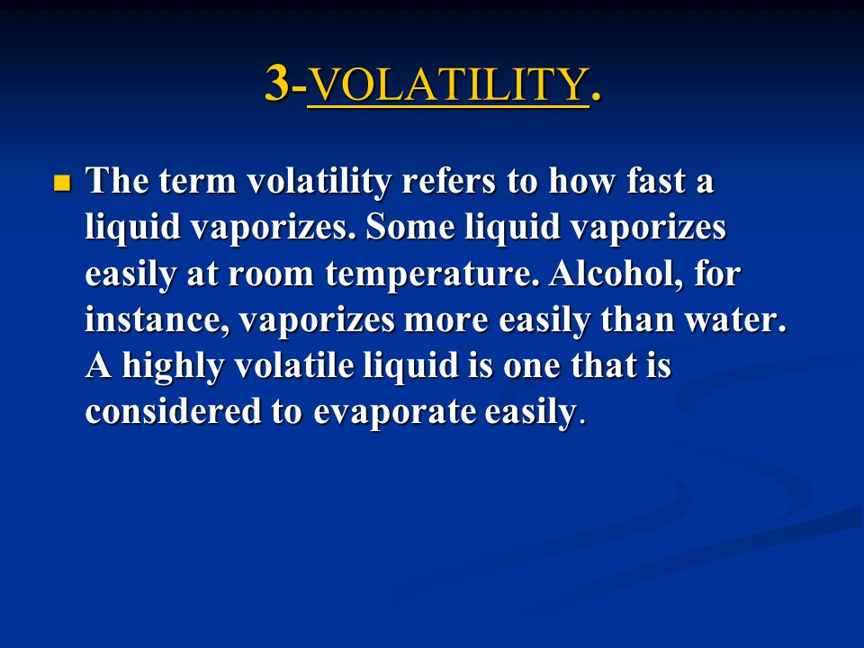 3-VOLATILITY.