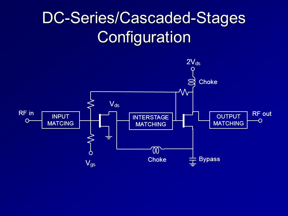 DC-Series/Cascaded-Stages Configuration