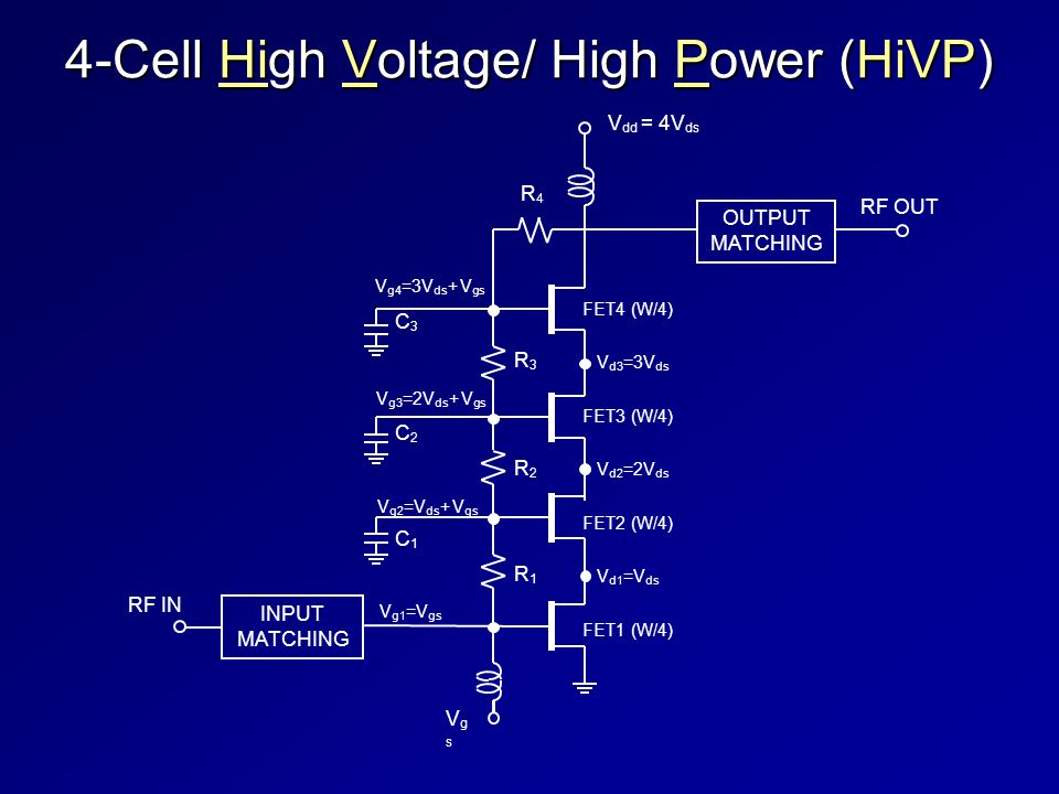 4-Cell High Voltage/ High Power (HiVP)