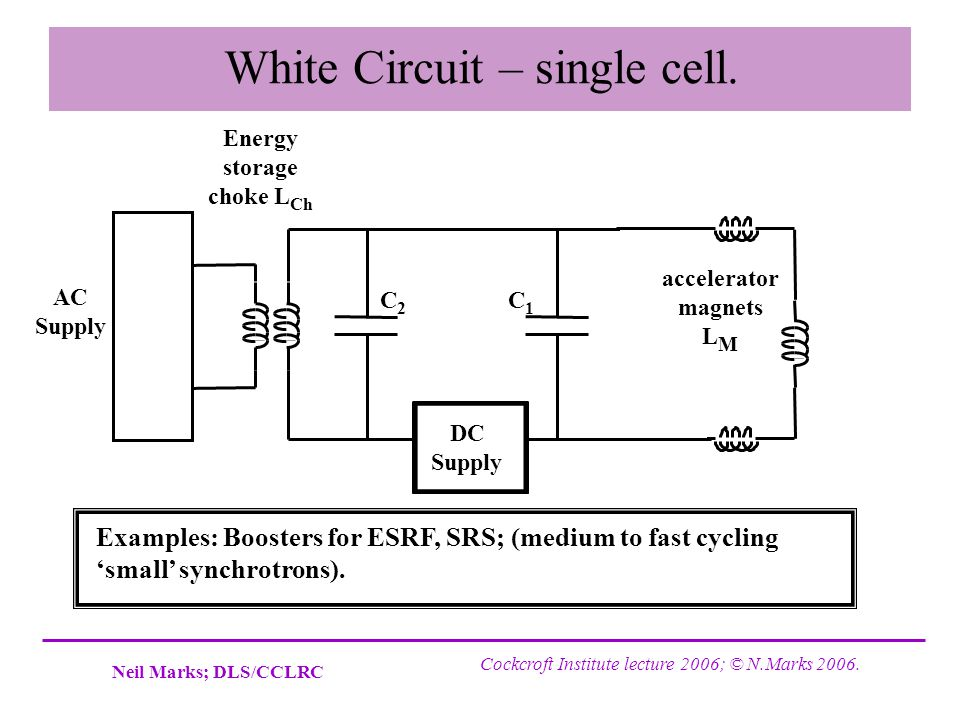 White Circuit – single cell.
