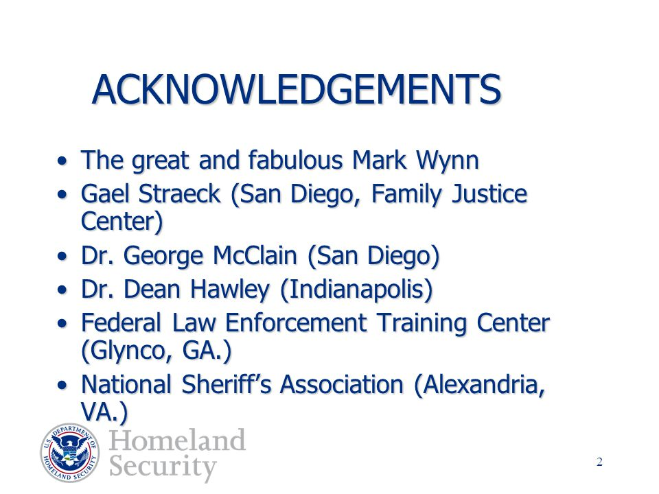ACKNOWLEDGEMENTS The great and fabulous Mark Wynn