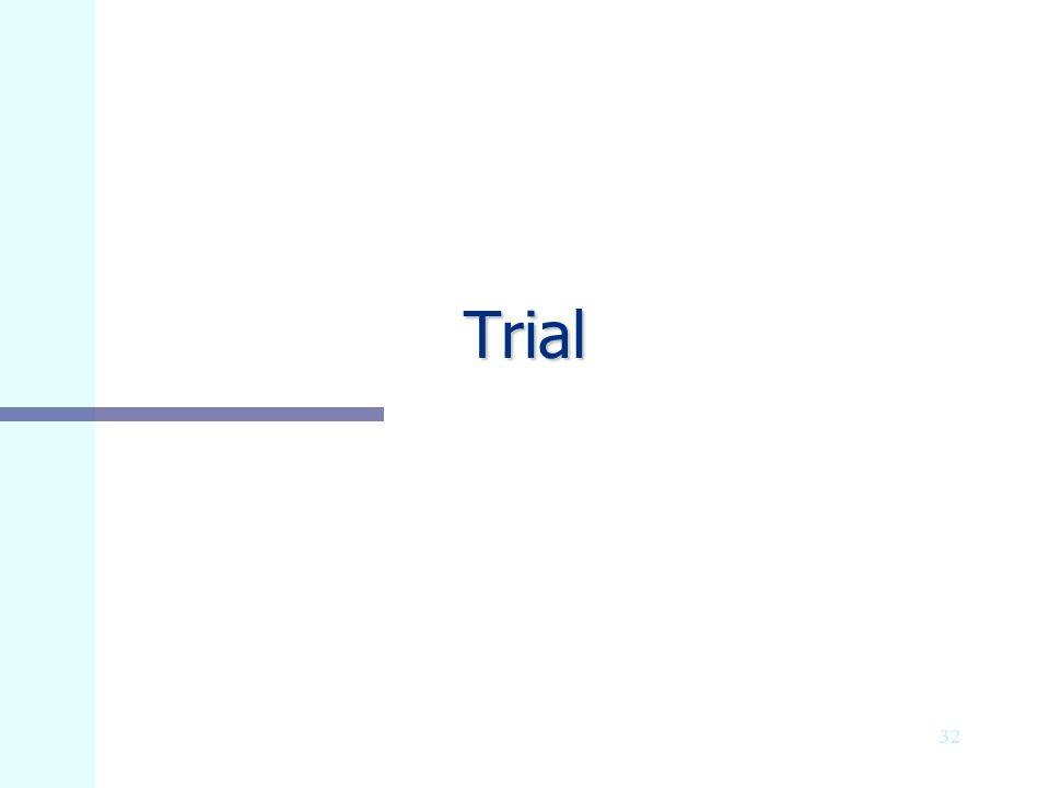 Trial Stalking and Strangulation