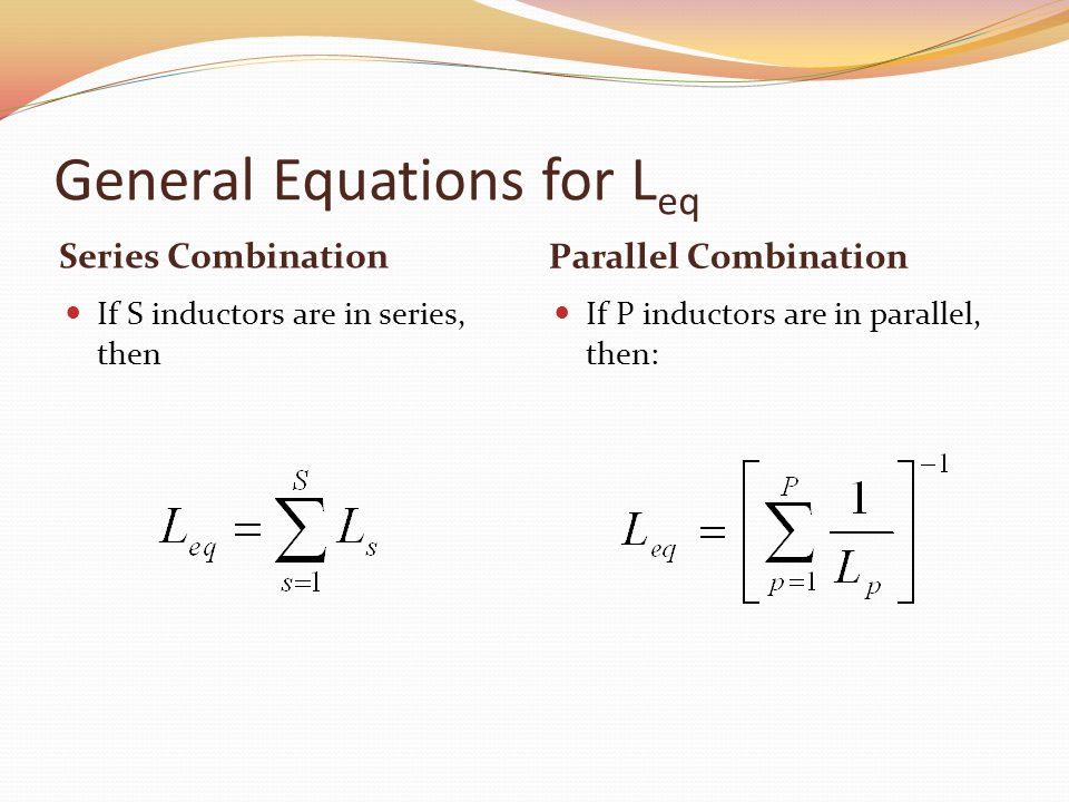 General Equations for Leq