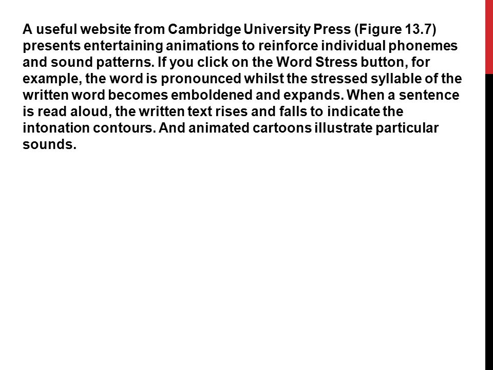 A useful website from Cambridge University Press (Figure 13
