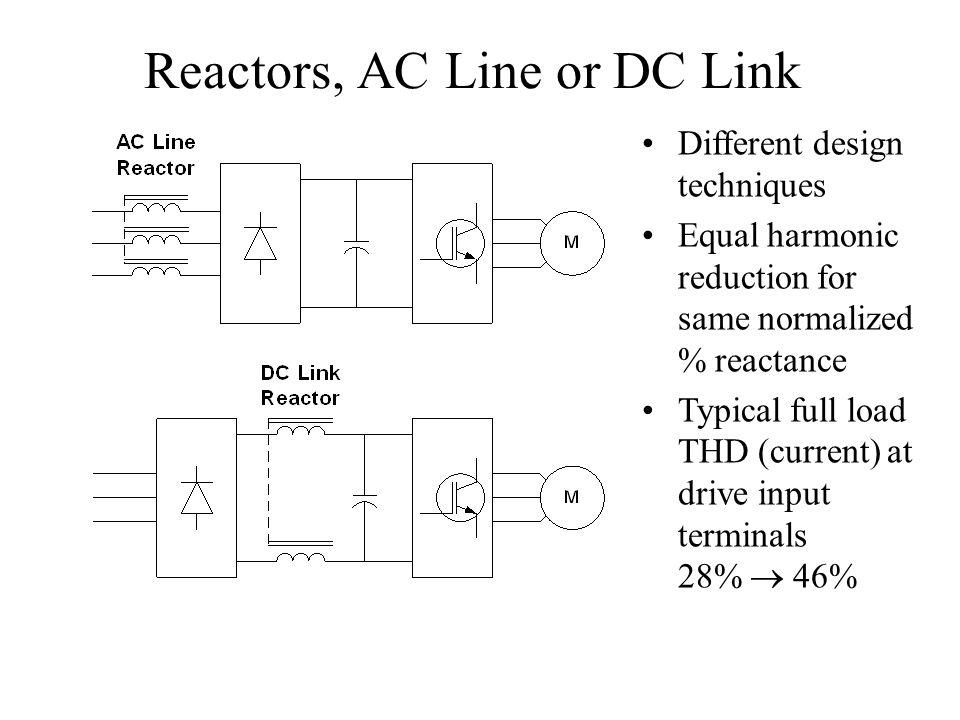 Reactors, AC Line or DC Link