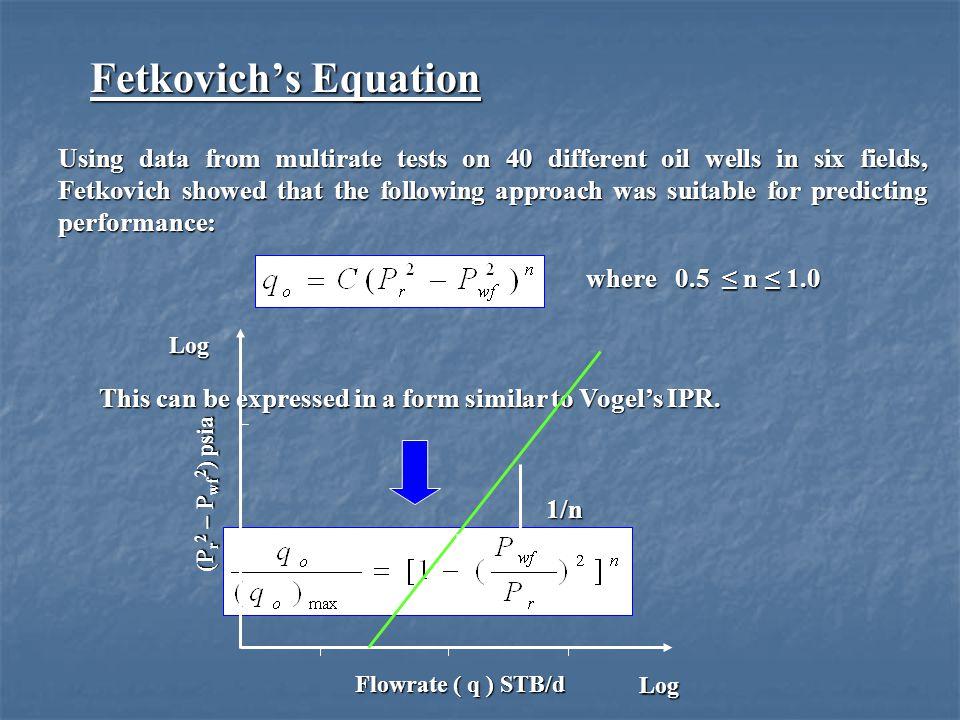 Fetkovich's Equation