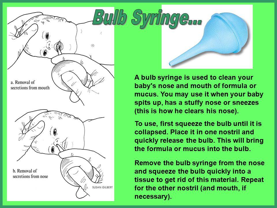 Bulb Syringe...