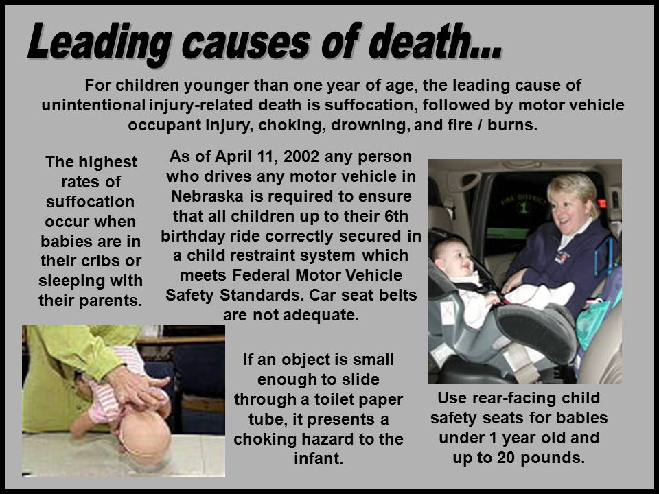 Leading causes of death...