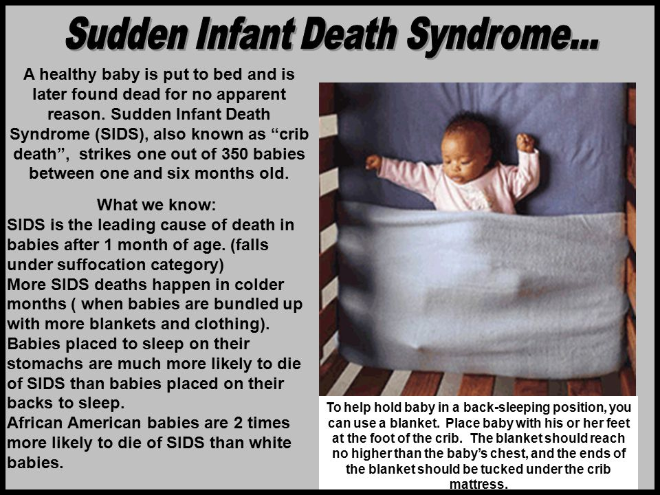 Sudden Infant Death Syndrome...