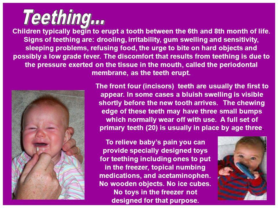 Teething...