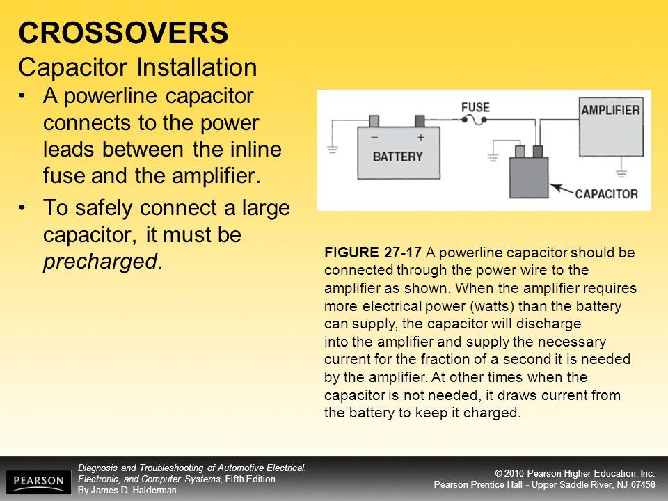 CROSSOVERS Capacitor Installation