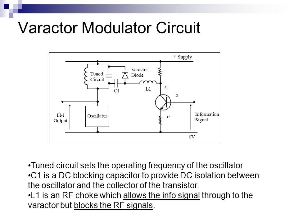 Varactor Modulator Circuit
