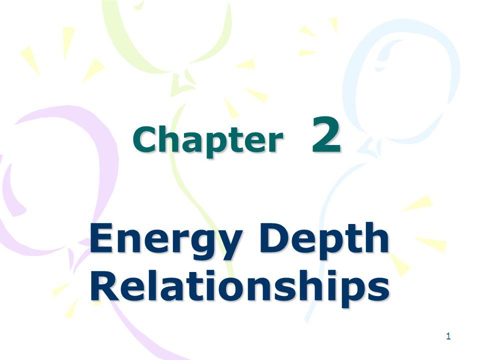 Energy Depth Relationships