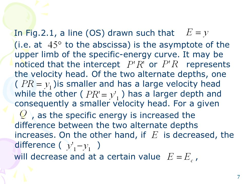 In Fig.2.1, a line (OS) drawn such that