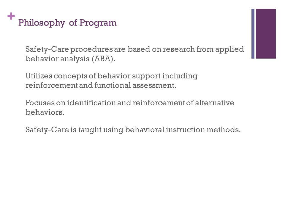 Philosophy of Program