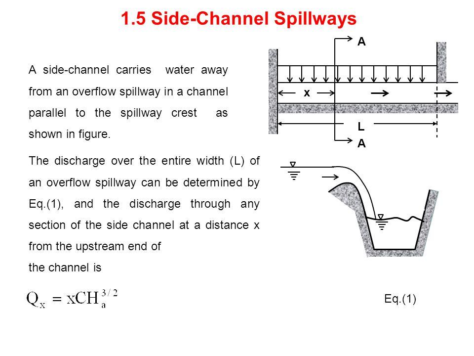 1.5 Side-Channel Spillways