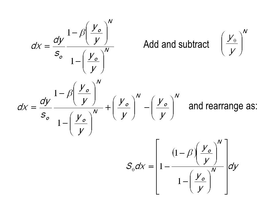Add and subtract and rearrange as: