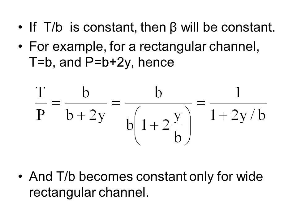 If T/b is constant, then β will be constant.