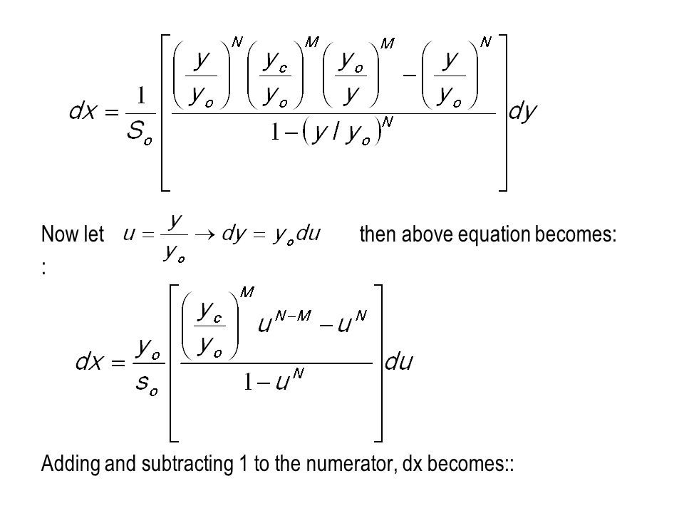 Now let then above equation becomes: : Adding and subtracting 1 to the numerator, dx becomes::