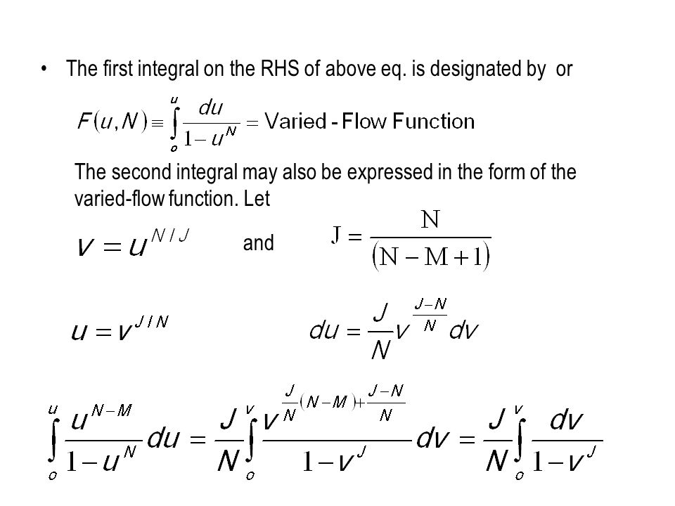 The first integral on the RHS of above eq. is designated by or