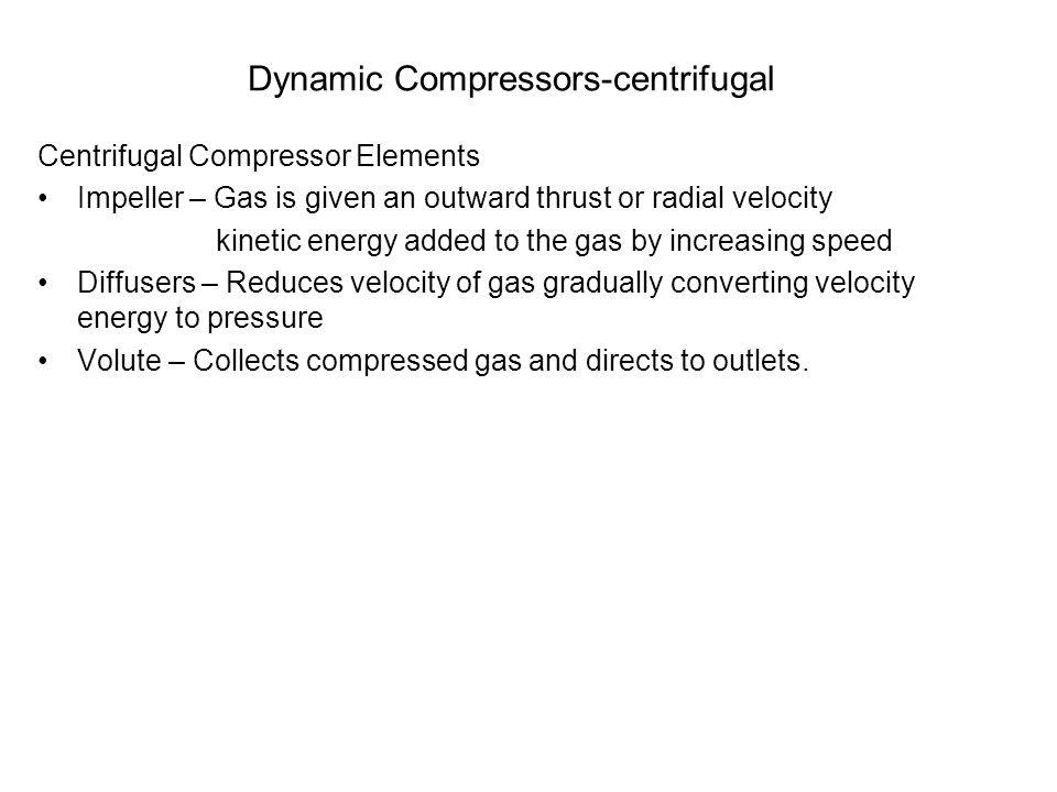 Dynamic Compressors-centrifugal