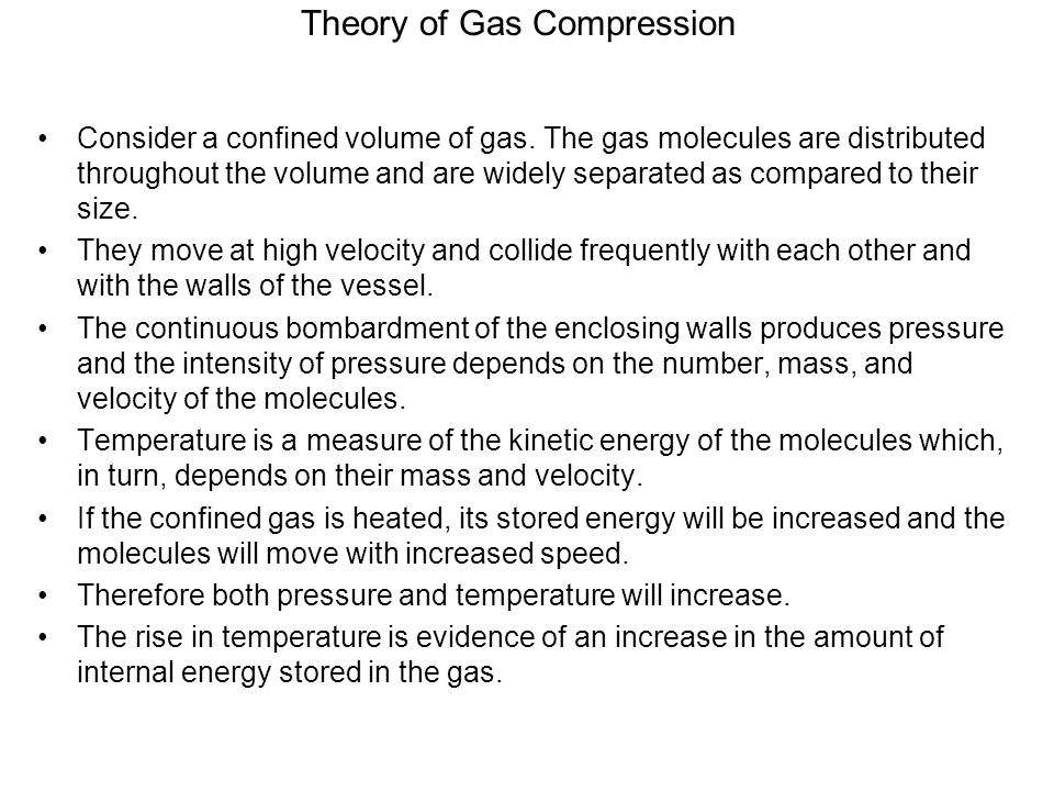 Theory of Gas Compression