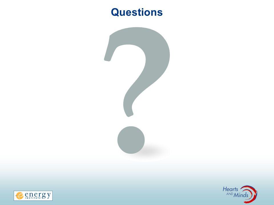 Questions FACILITATOR NOTES