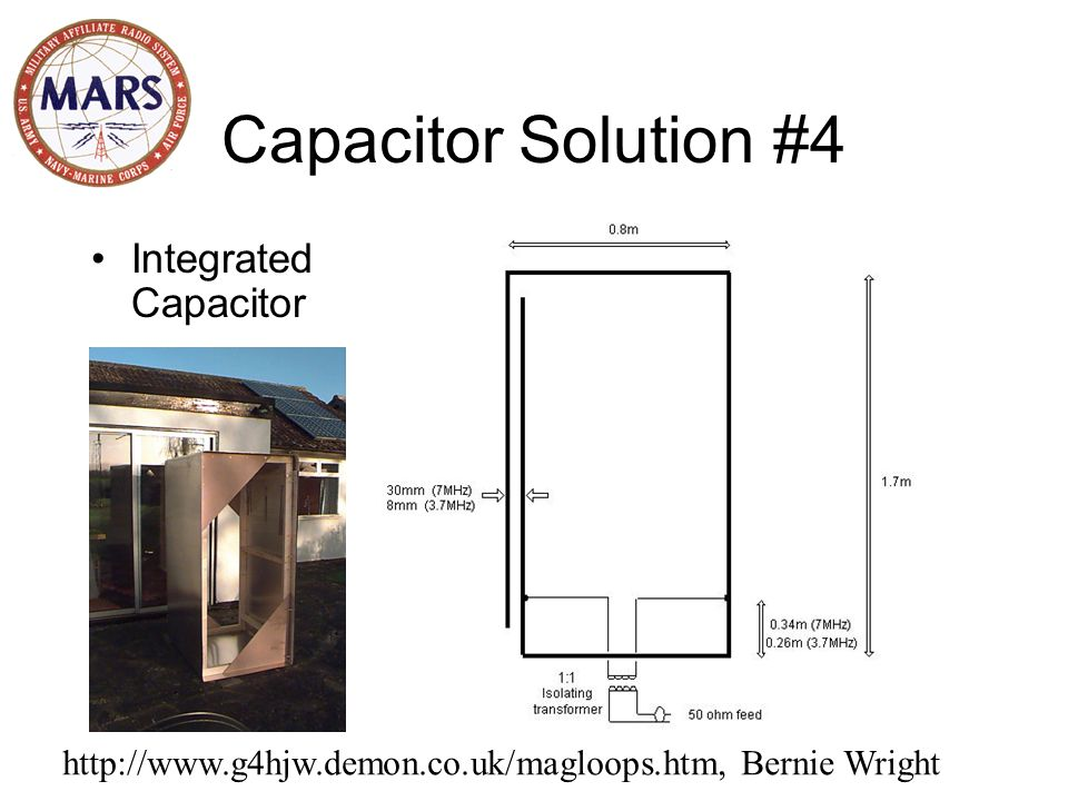 Capacitor Solution #4 Integrated Capacitor