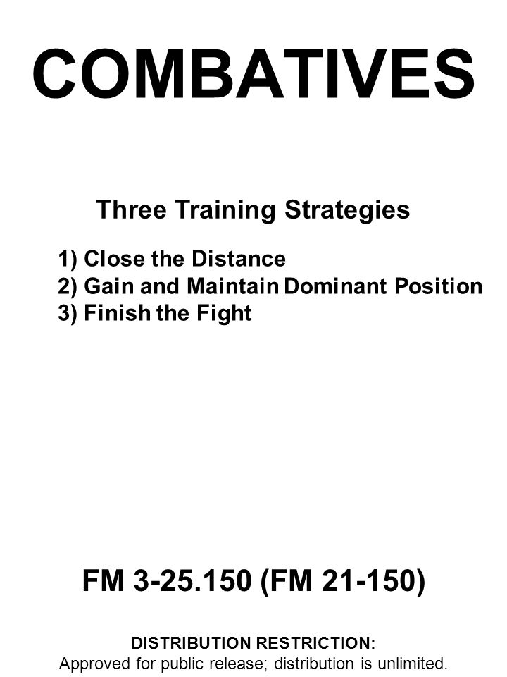 Three Training Strategies DISTRIBUTION RESTRICTION: