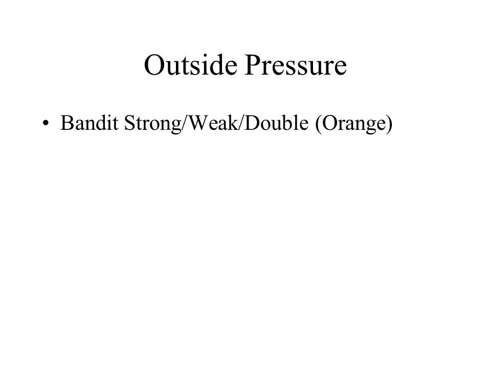 Outside Pressure Bandit Strong/Weak/Double (Orange)