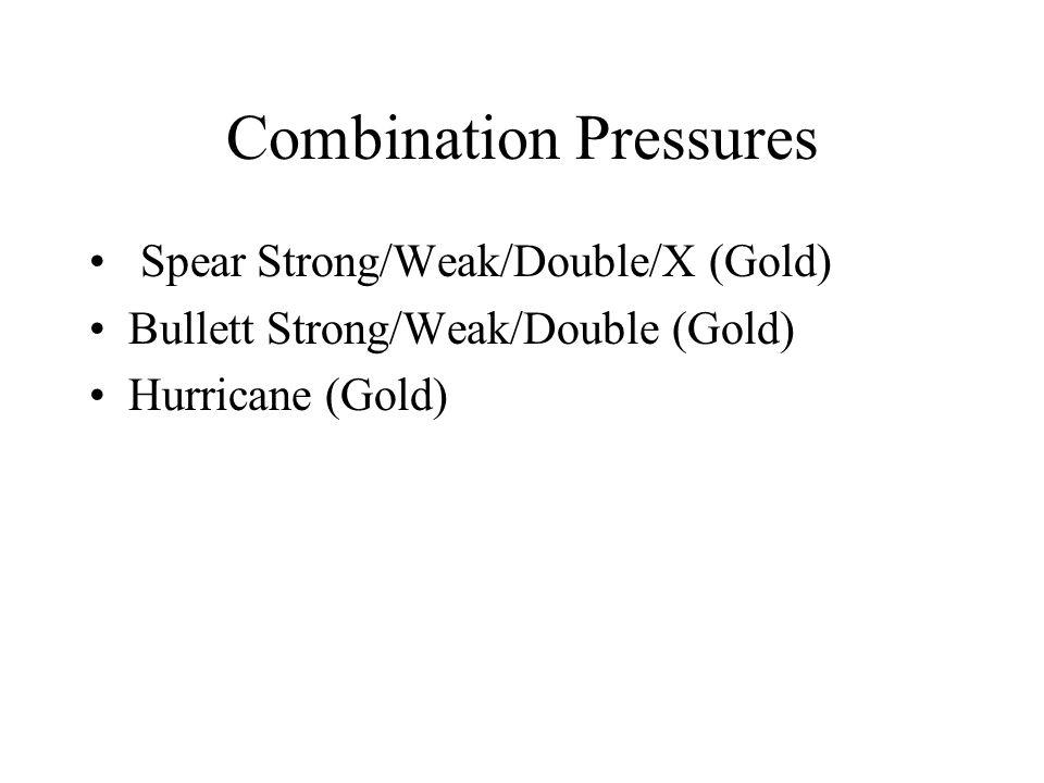 Combination Pressures