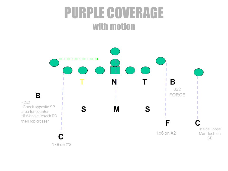 PURPLE COVERAGE with motion