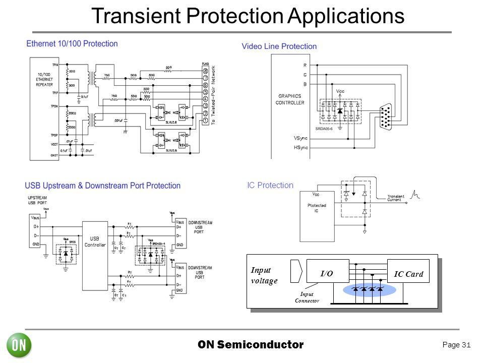 Transient Protection Applications