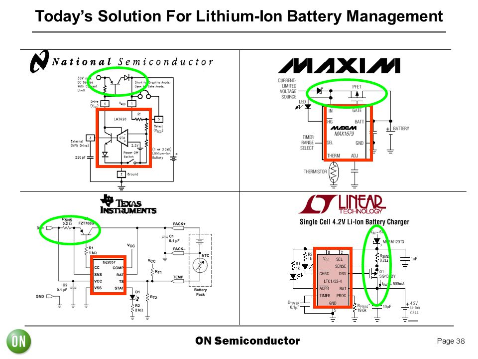 Today's Solution For Lithium-Ion Battery Management