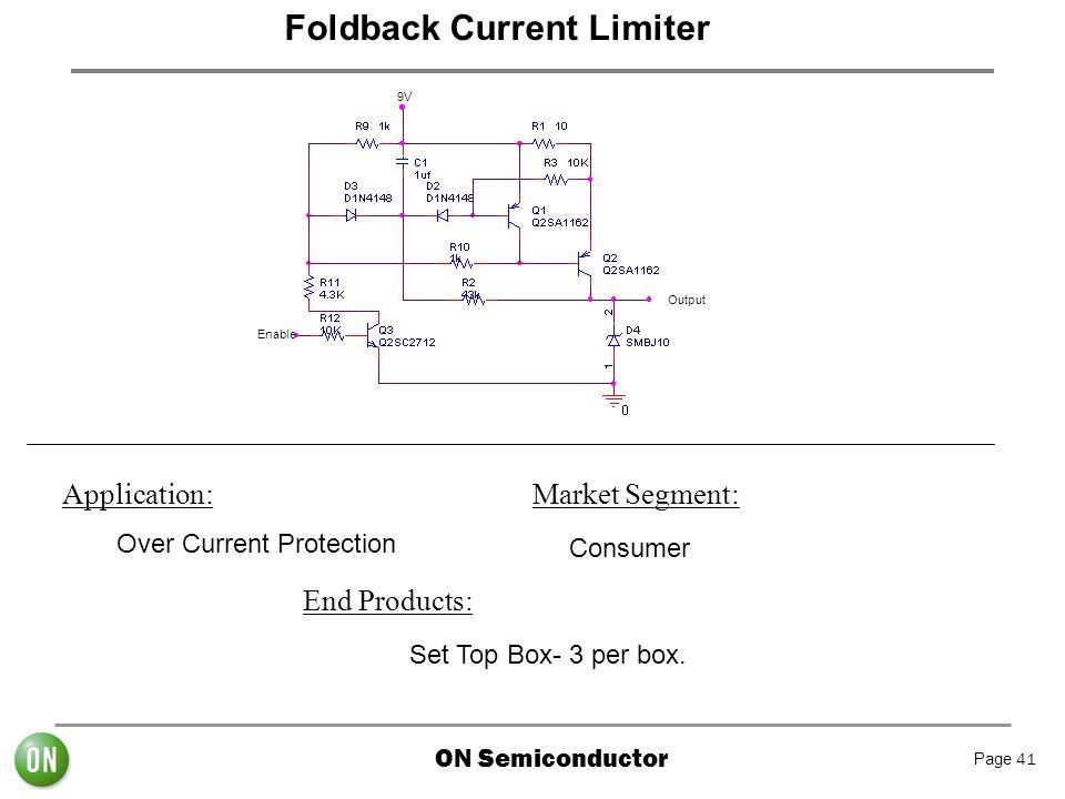 Foldback Current Limiter