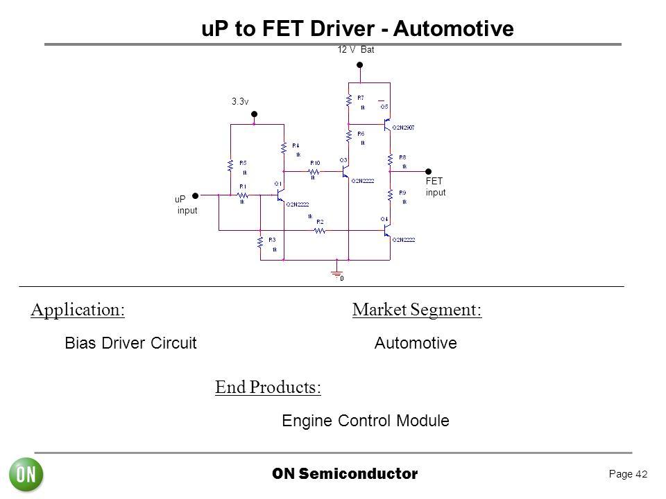 uP to FET Driver - Automotive