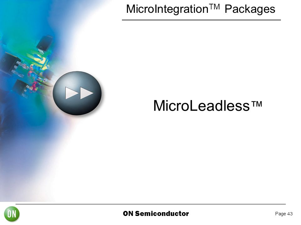MicroIntegrationTM Packages