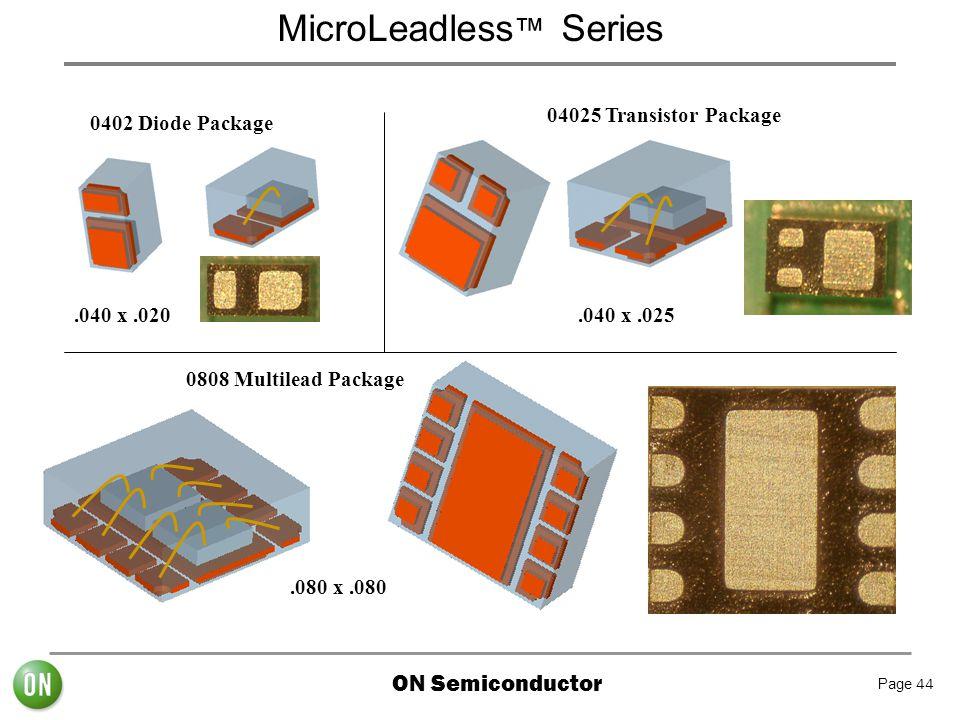 MicroLeadless™ Series