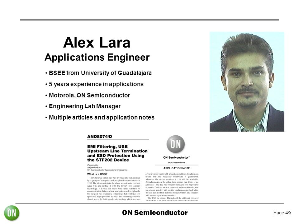 Applications Engineer