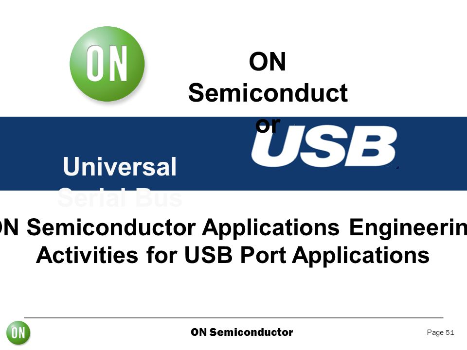 ON Semiconductor Universal Serial Bus