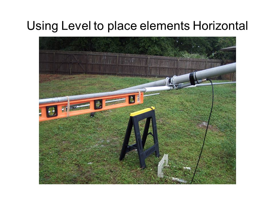Using Level to place elements Horizontal