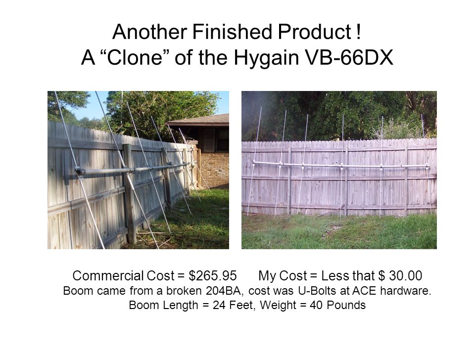 Another Finished Product ! A Clone of the Hygain VB-66DX