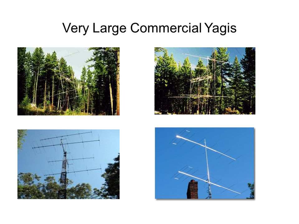 Very Large Commercial Yagis