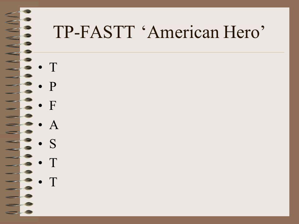 TP-FASTT 'American Hero'