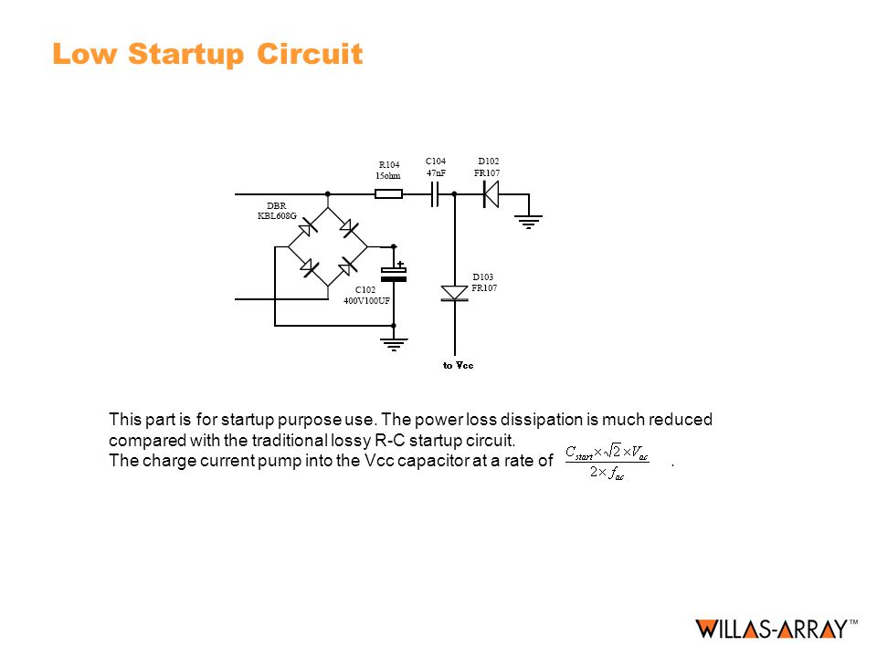 Low Startup Circuit